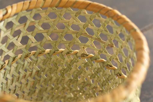 長野 根曲竹 円筒かご
