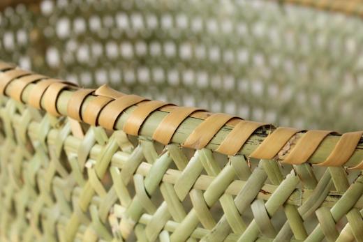 長野 根曲竹の手提げかご
