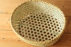 戸隠 根曲竹 楕円椀かご