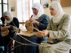 パレスチナのかご編み