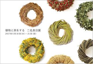 『植物と旅をする 二名良日展』のお知らせ